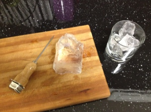 Home Made Clear Ice